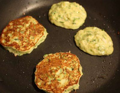 Zucchini Pancakes | Skinnytaste I want to note that this recipe is made as a dinner side dish, not a breakfast pancake.