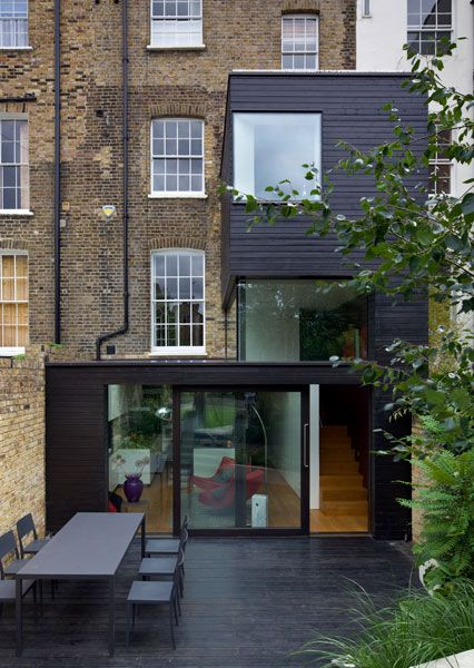 Tredegar Square extension by David Mikhail Architects