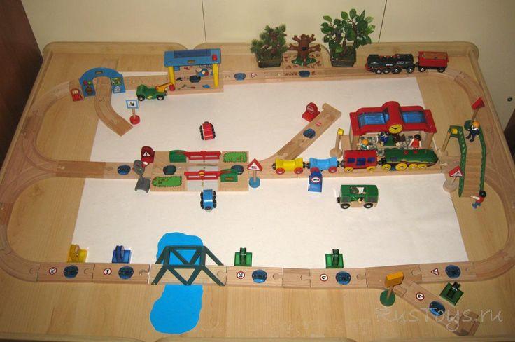 Деревянная железная дорога Brio Smart Track