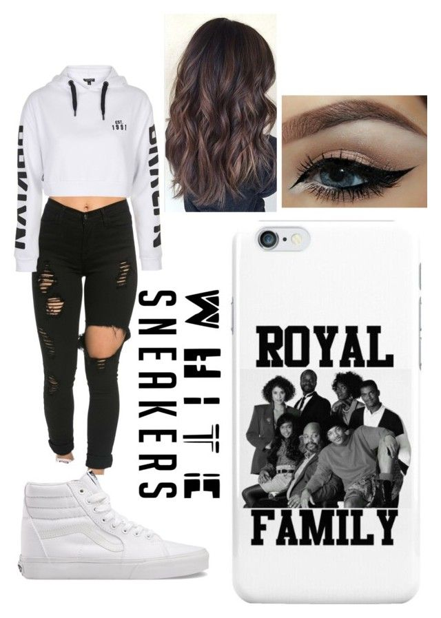 """""""Untitled #286"""" by ilianavaldez on Polyvore featuring Topshop and Vans"""