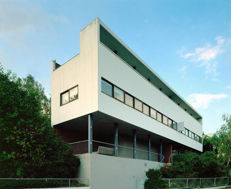 12 best mies van der rohe weissenhof housing exhibition - Casa perls mies van der rohe ...