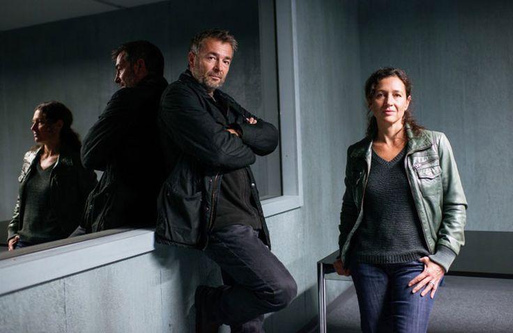Tatort Luzern 'Schutzlos' (Juli 2015) mit Reto Flückiger (Stefan Gubser) und Liz Ritschard (Delia Mayer)