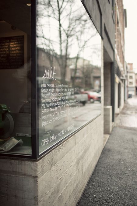 Salt. Vancouver. Share, Like, Repin! Also find us at instagram.com/mightytravels