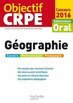 Géographie : oral CRPE http://cataloguescd.univ-poitiers.fr/masc/Integration/EXPLOITATION/statique/recherchesimple.asp?id=190781246