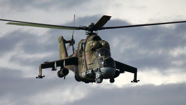 Mi-24 HIND: The Flying Russian Crocodile Can Fight and Flee