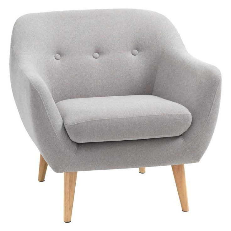 Scandinavian design inspired arm chair
