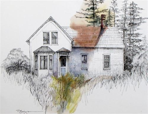 """A Little Victorian Charm"" - Original Fine Art for Sale - © Paula Ensign"
