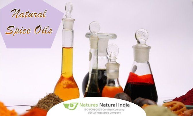 Buy Natural Spice Oils at affordable price Online via www.naturesnaturalindia.com.
