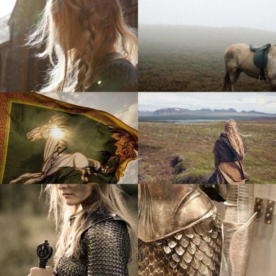 """Eowyn of Rohan (LOTR Trilogy)      """"I am no man"""""""