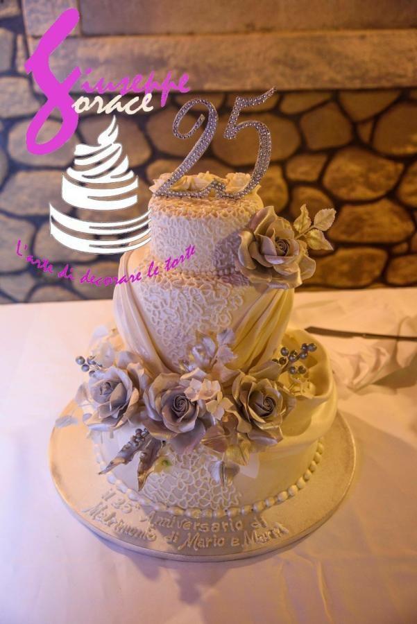 Nozze d argento - Cake by giuseppe sorace