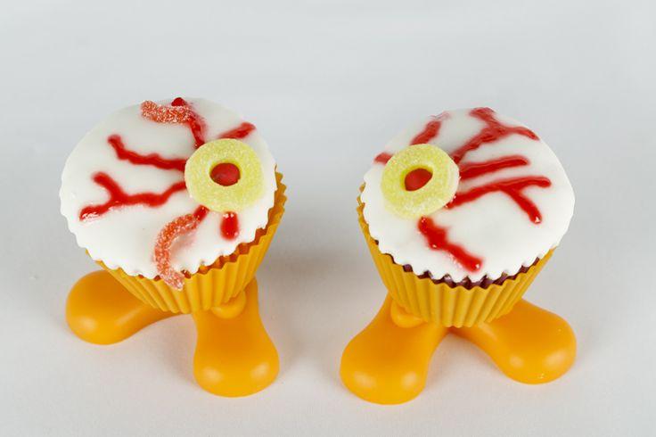 Cupcakes de ojos tenebrosos