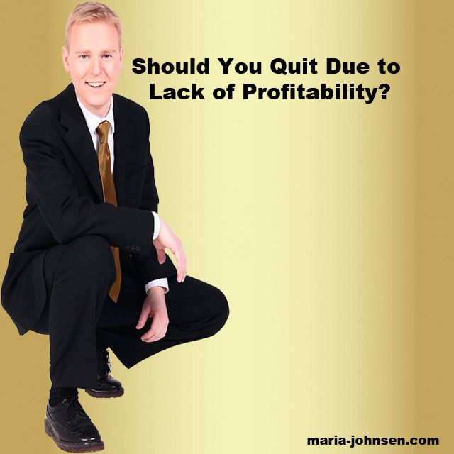 The Advanced Guide to Not Quit Your Business | Million Dollar Blog