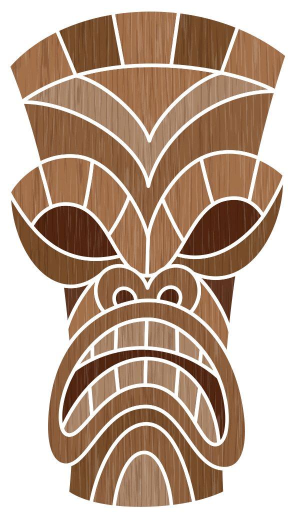 Tiki Designs by Von Glitschka, via Behance