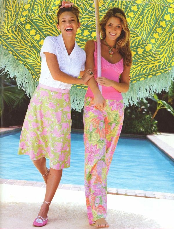 Coastal Style: The Preppy Beach Look from Lilly P