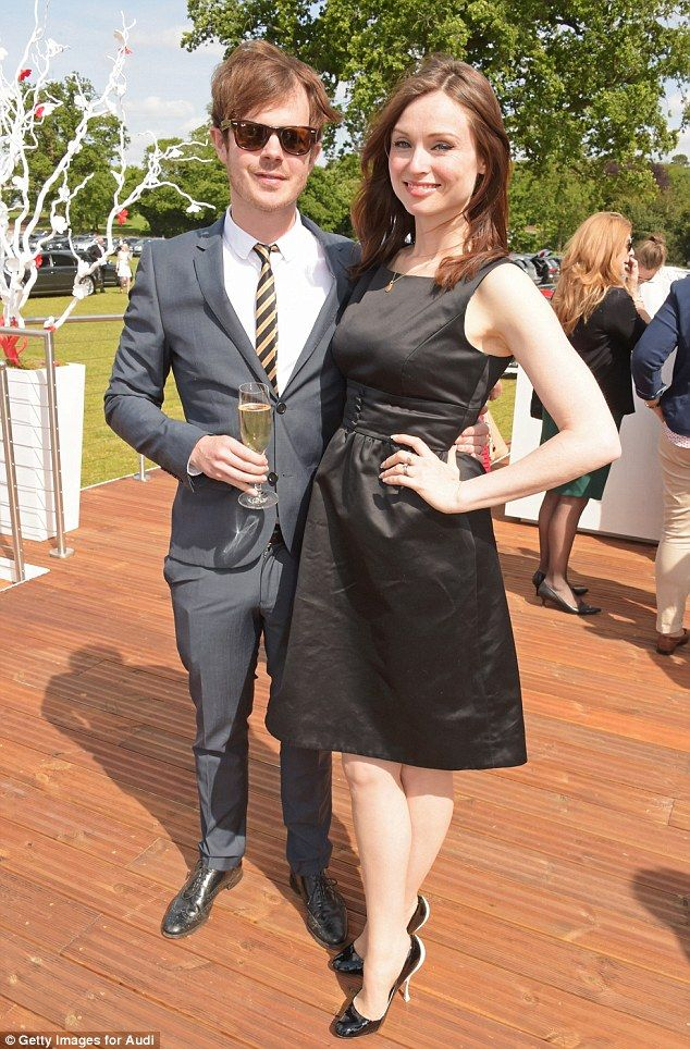 Looking slick: The couple announced that they were expecting their fourth child just last ...