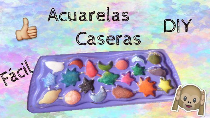 Acuarelas Caseras