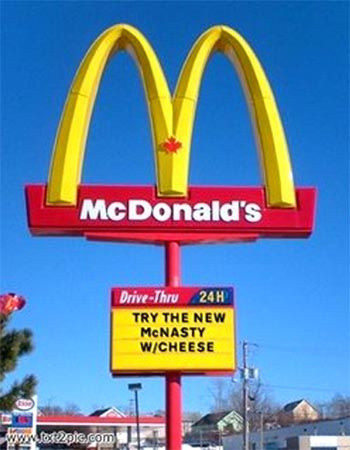 drive 4hours and 45mins on a bicycle just to see these golden arches... oh wait i already did..... CHECK