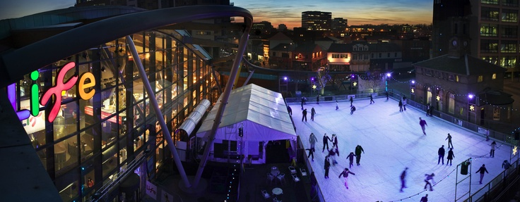 Because it wouldn't be winter without a bit of ice skating - and what better venue than Life Science Centre...