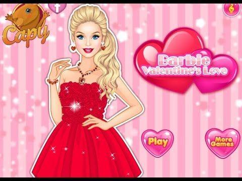 Barbie Valentine`s Love - Game Tutorial 2016