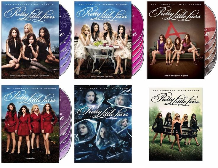 Pretty Little Liars Seasons 1-6 (DVD)