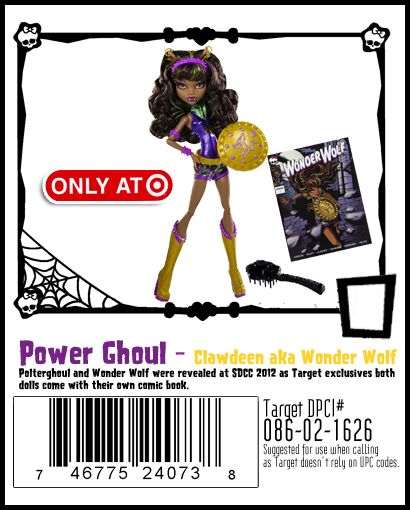 Target monster high doll coupon