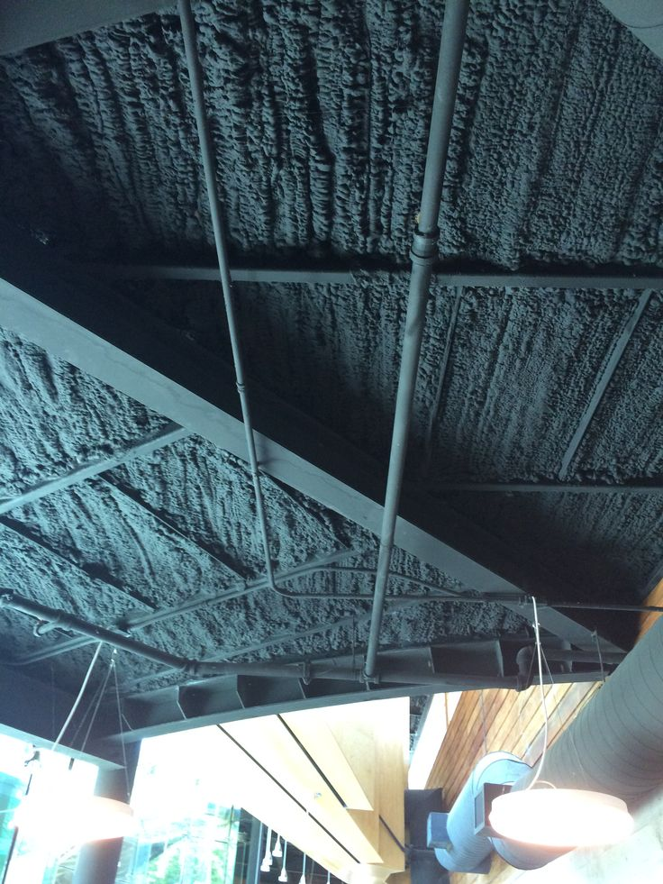 black spray foam insulation