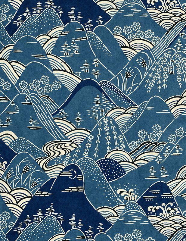 Hoa văn trang trí  đặc trưng của người Nhật Bản ,được sử dụng trên giấy của nghệ thuật origami hay trên các trang phục kimono truyền thống