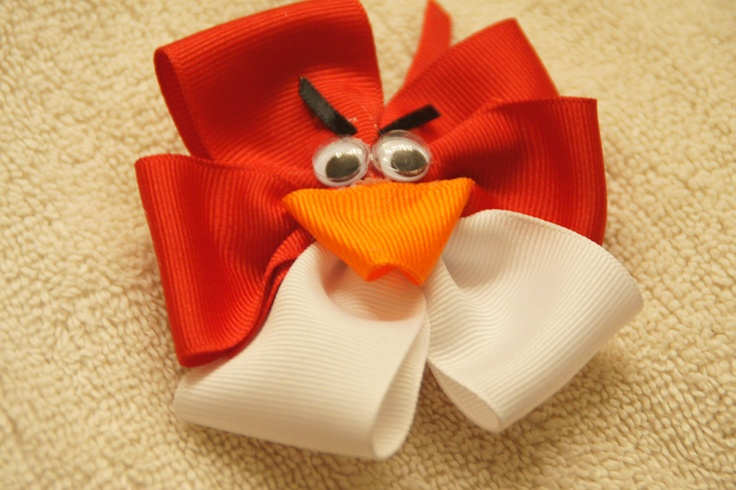 Funny Angry Birds bow