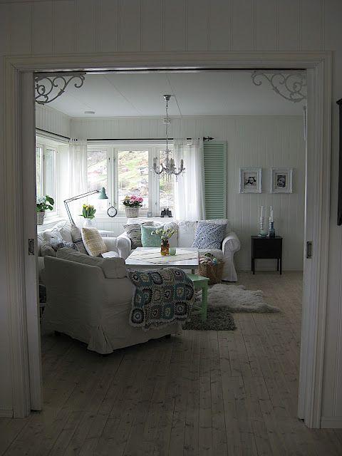 Casinha de Retalhos: Uma sala aconchegante