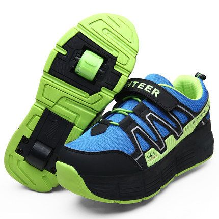 nieuwe kind heelys skate roller schoenen met wielen kinderen schoenen sneakers voor kinderen jongens meisjes zapatillas zapatos de ruedas(China (Mainland))