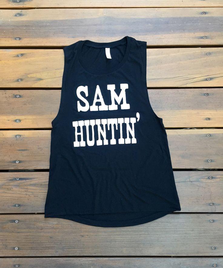 SAM HUNTIN' Muscle Tank