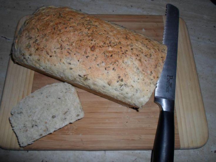 Domáci celozrnný chlebík