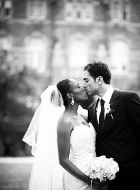 Eli Turner Studio Classic Washington DC Wedding Bride Groom Kiss2 275x372 Classic Wedding in Washington, DC: Astrid + Maher