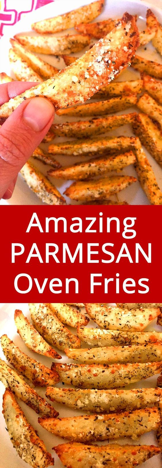 Amazing Garlic Parmesan fries taste even better with some 505 Chile Sauce!