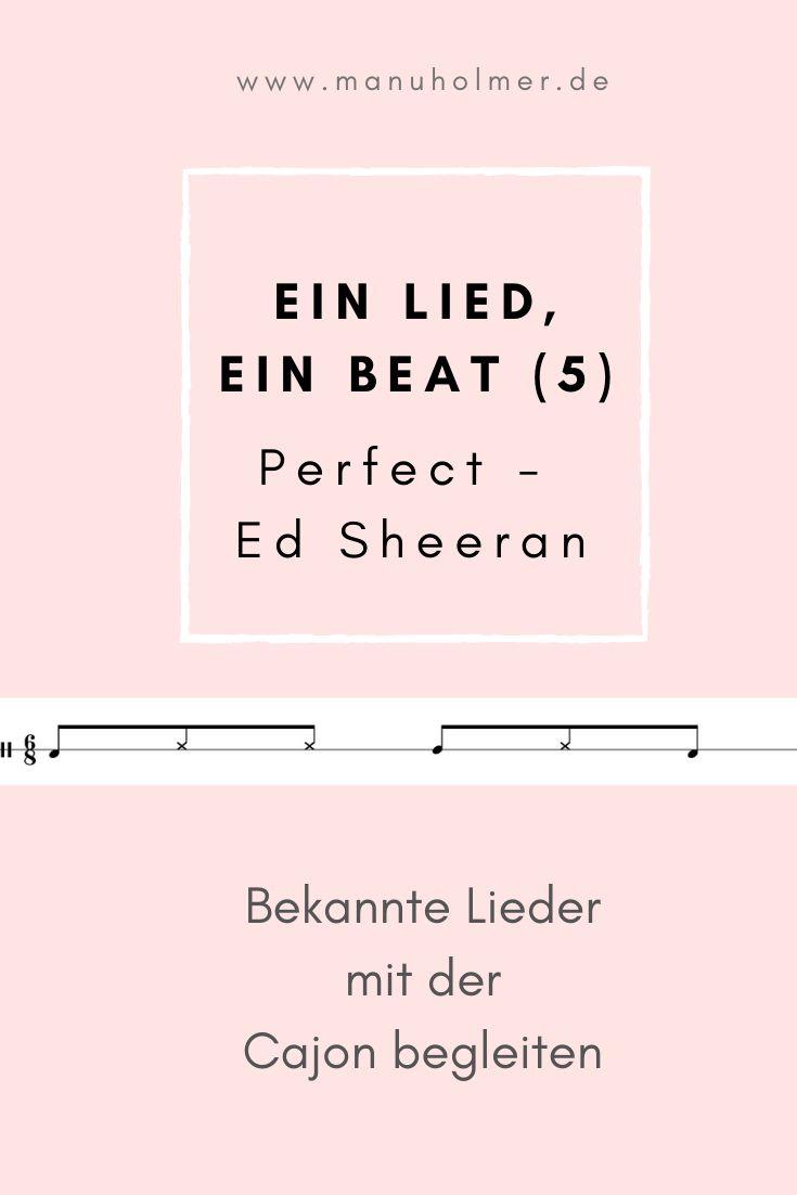 Ein Lied, ein Beat 20   Perfect von Ed Sheeran in 20   One ...