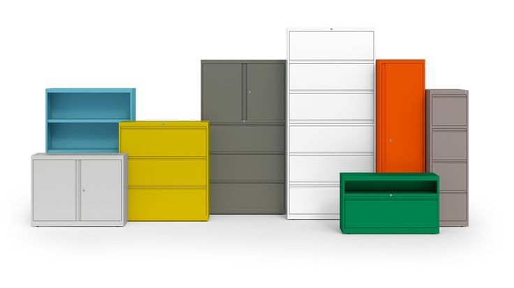 Groupe Lacasse storage available through Schoolhouse Products