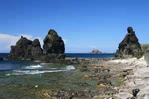 綠島將軍岩三礁岩