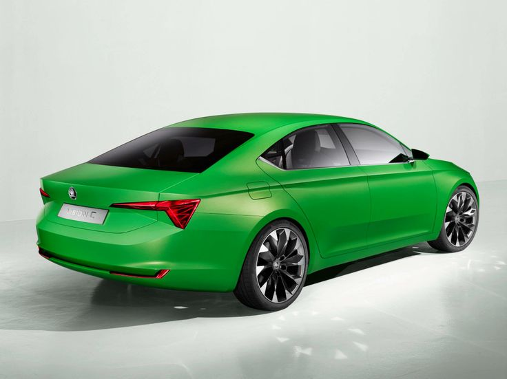 The New SKODA VisionC: design meets functionality - Coupé with large hatch.
