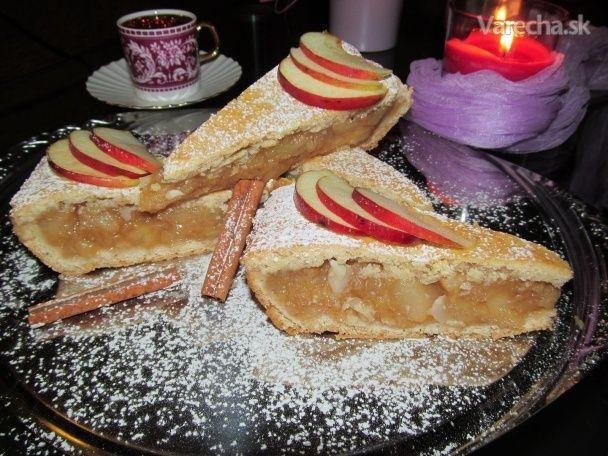 Šťavnatý jablkový koláč -pité (fotorecept) - Recept