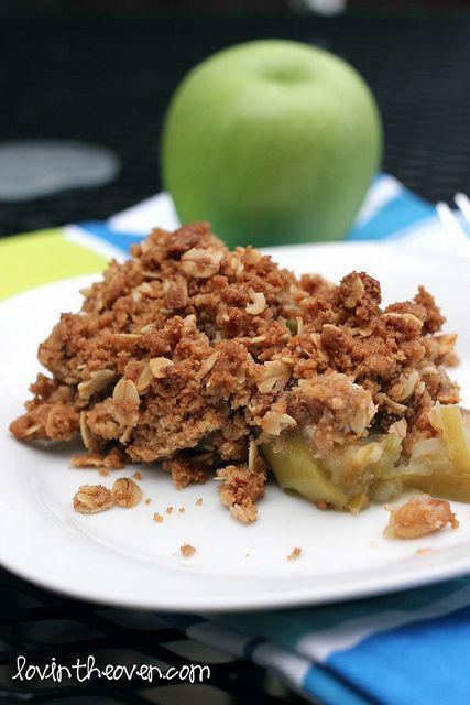 Betty Crocker's Apple Crisp - I make this all the time! I double the recipe though because otherwise its gone in 10 minutes.
