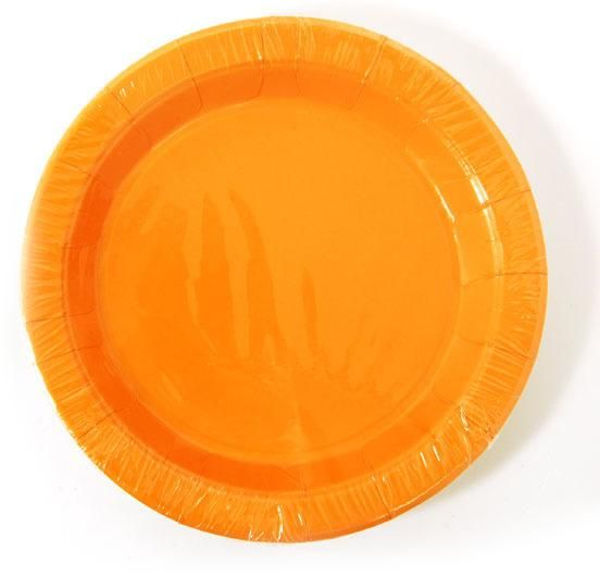 wholesale orange-dinner-plate-(8-count)-(case-of-36) (Case of 36)