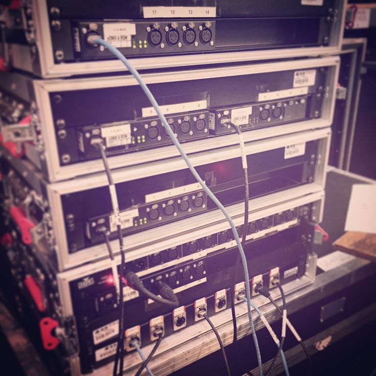 Artnet rack! So sleek! Getting ready for #thompsonsquare tour! #44designs #morethangear