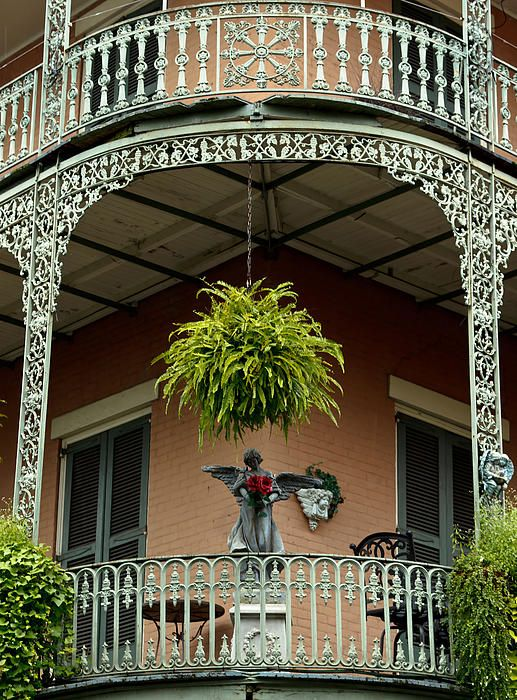 French Quarter balcony, New Orleans