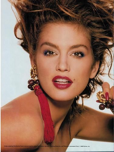 292 best ads revlon images on pinterest revlon vintage ads and 1989 revlon cindy crawford wild berries color 2 page magazine print ad ccuart Image collections