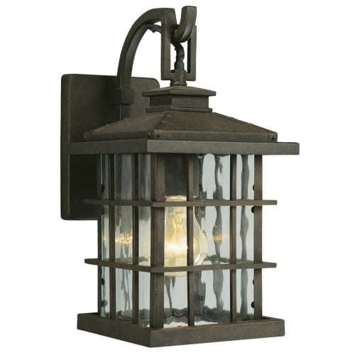 Design House 508275 Townsend Traditional / Classic 1 Light Down Lighting Outdoor Wall Sconce (Steel)