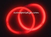 100 bracelets fluos lumineux rouges - mariage-promo.fr 18€