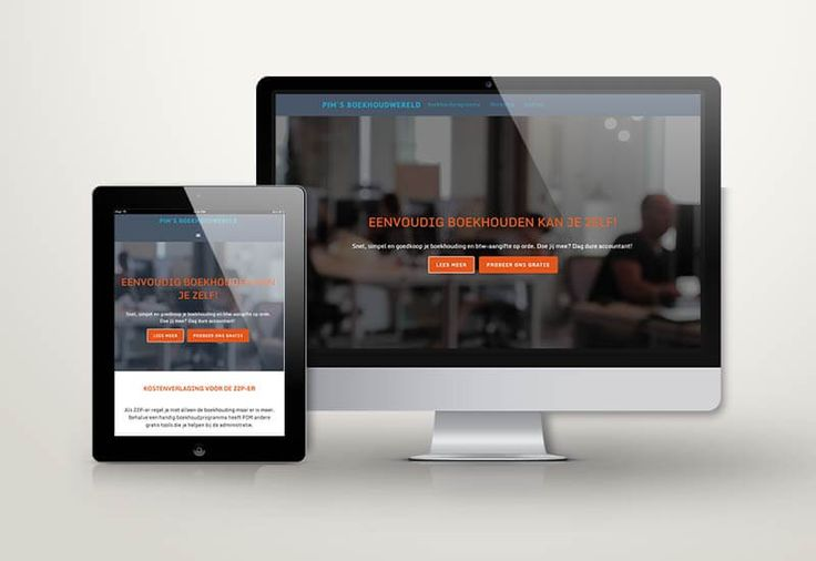 redesign #WordPress website pimsboekhoudwereld.nl