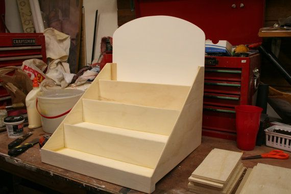 Unfinished Display stand for craft show Craft by MyHeavenlySoap