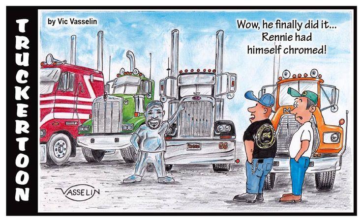 Truck Driver Comic - YAY!   Fun Stuff   Trucks, Heavy duty ... Diesel Truck Meme