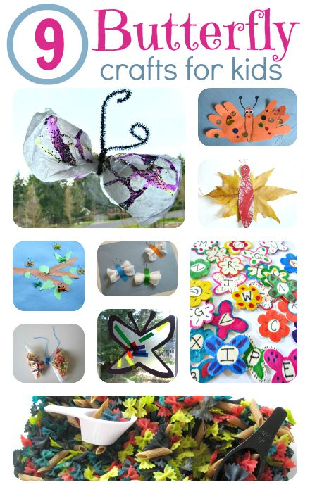 Easy Butterfly Crafts For Kids